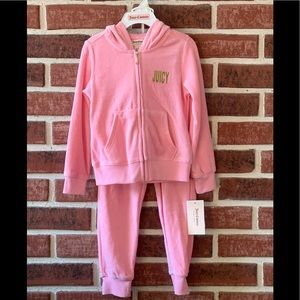 Juicy Couture velour hoody tracksuit